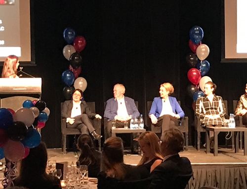 A robust discussion about gender equity at our inaugural Gala Dinner