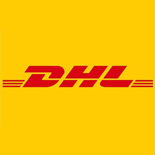 DHL logistics logo